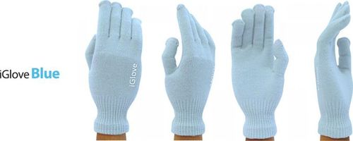 Rękawiczki iGlove 5-TIP - Blue uniwersalny