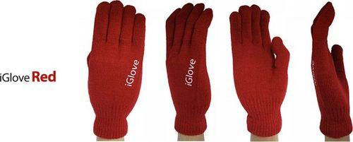 Rękawiczki iGlove 5-TIP - Red uniwersalny