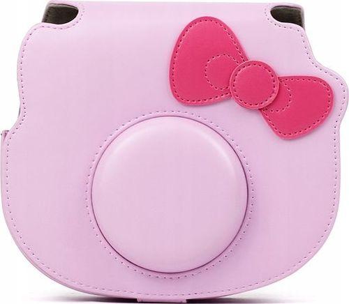 Pokrowiec LoveInstant Futerał Etui Pokrowiec Do Fujifilm Instax Mini Hello Kitty - RÓŻowy