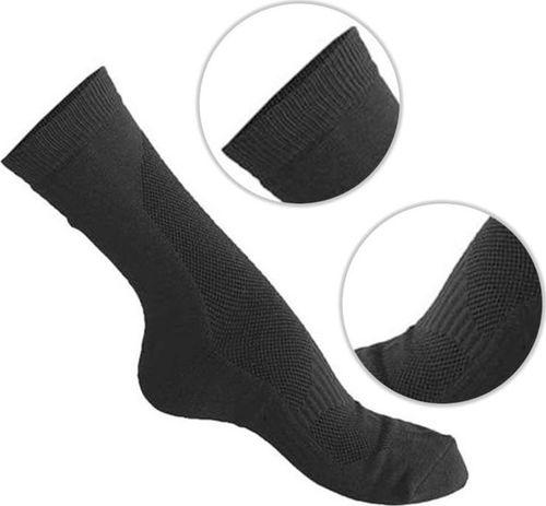 Mil-Tec Mil-Tec Skarpety Coolmax Krótkie Czarne 46-48