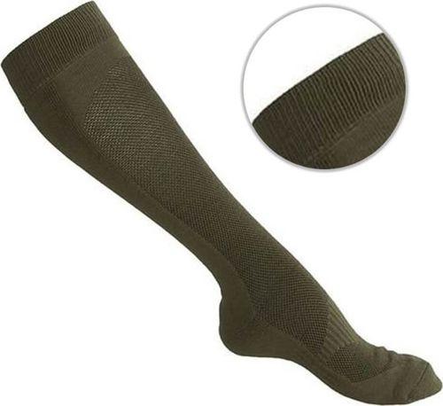 Mil-Tec Mil-Tec Skarpety Coolmax Długie Olive 46-48