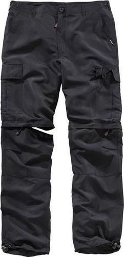 Surplus Surplus Spodnie Dresowe 2w1 Quick Dry Czarne 4XL