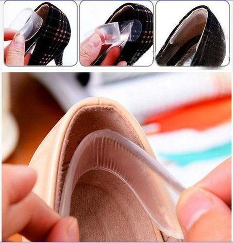 Beauty Tools Zapiętki żelowe do obuwia, butów, szpilek, butów na obcasie komplet 2 sztuk uniwersalny