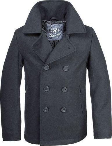 Brandit Brandit Płaszcz Pea Coat Czarny 3XL