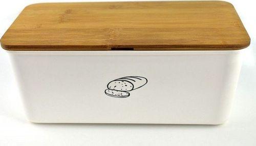 Chlebak Kesper bambusowo-melaminowy z deską do krojenia