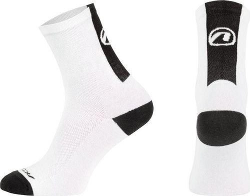Accent Skarpetki kolarskie Stripe biało-czarne 45 - 46