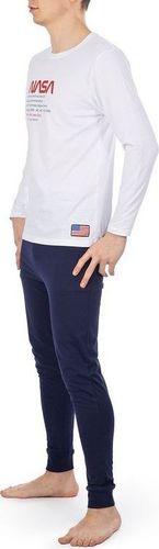 NASA Piżama Nasa Pyjama Big/Worm White/Navy NASA-PAJAMAS9 S