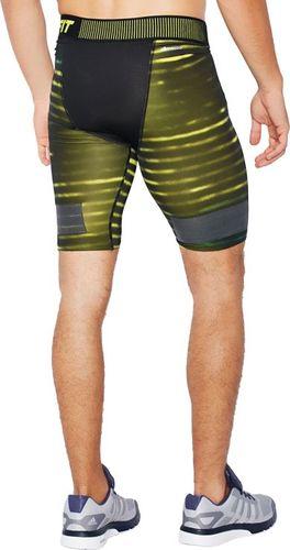 Adidas Legginsy męskie Tf Cool G Sh 9 żółte r. S (AB4581)