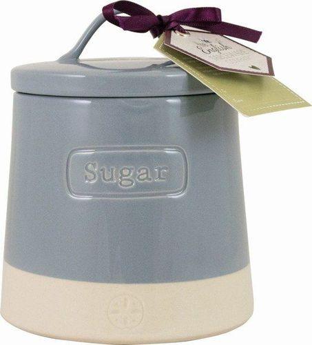 DMD Pojemnik ceramiczny do cukru Artisan Niebieski uniwersalny