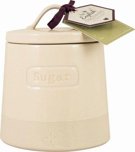 DMD Pojemnik ceramiczny do cukru Artisan kremowy uniwersalny
