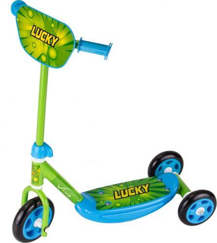 Vivo Hulajnoga 3-kołowa 140-125mm zielono-niebieska