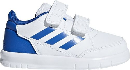 Adidas Buty dla dzieci adidas AltaSport CF I biało-niebieskie D96844 23