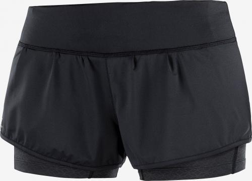 Salomon Spodenki damskie Elevate Aero Short W Black/Black r. L