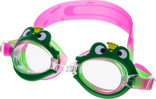 Speedo Okulary do pływania Vivo Junior B-0123 zielono-różowe Uniwersalny