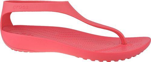 Crocs Sandały damskie W Serena Flip czerwone r. 39/40 (205468-611)