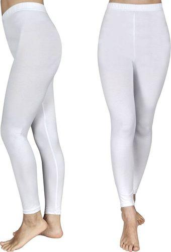 vidaXL Białe Legginsy dla dziewczynki 134/140 x2
