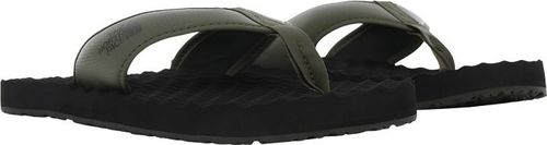 The North Face Japonki The North Face M Base Camp Flip-Flop II męskie : Kolor - Oliwkowy, Rozmiar obuwia - 39