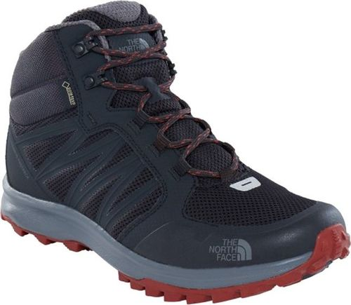 The North Face Buty męskie Litewave Fastpack Mid Gtx czarne r. 46