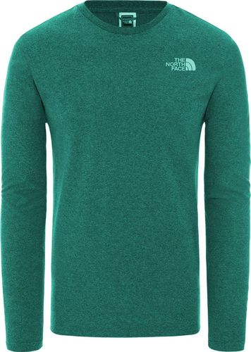 The North Face Bluza męska M L/S Easy Tee morska r. M
