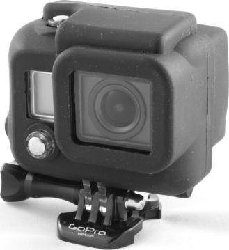 Pokrowiec Xrec Obudowa pokrowiec futerał silikonowy do kamer GoPro HERO 3 / CZARNA