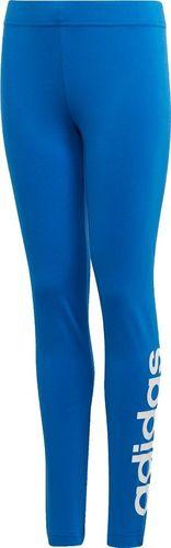 Adidas Legginsy dziecięce YG E LIn Tight niebieskie r. 170 (FM7025)