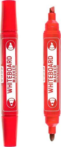 Easy Marker suchościeralny dwustronny czerwony (12szt)