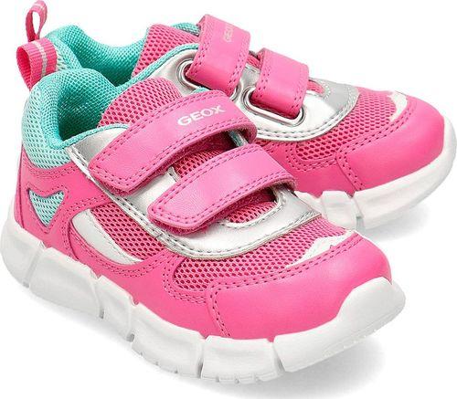 Geox Geox Baby Flexyper - Sneakersy Dziecięce - B022WB 0BC14 C8002 24