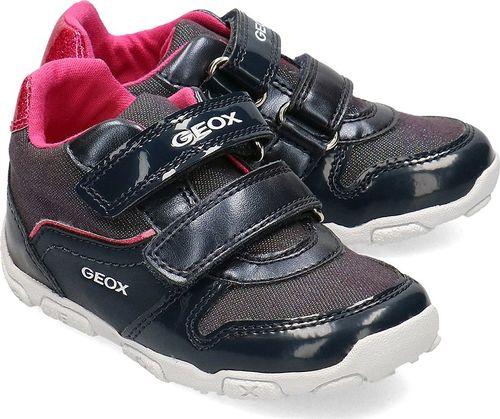 Geox Geox Baby Balu - Sneakersy Dziecięce - B022ZA 0AJ13 C4268 19