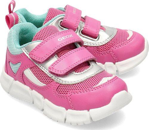 Geox Geox Baby Flexyper - Sneakersy Dziecięce - B022WB 0BC14 C8002 21