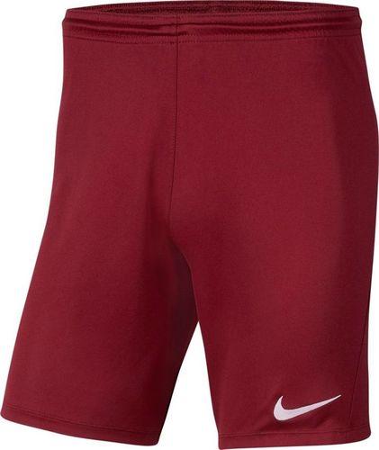 Nike Nike JR Park III Knit shorty 677 : Rozmiar - 164 cm (BV6865-677) - 22035_190787