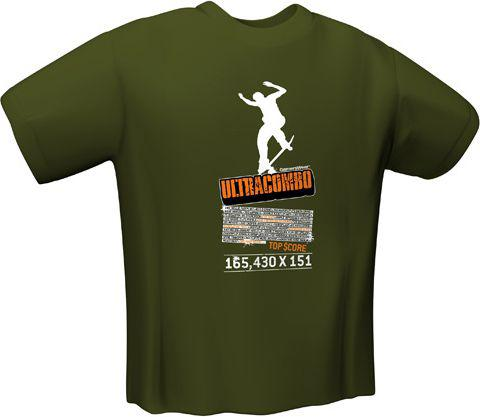 GamersWear ULTRACOMBO T-Shirt Olive (S)  (5100-S)