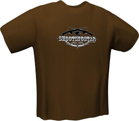 GamersWear SHOOTINGSTAR T-Shirt Brown (S) (5127-S)
