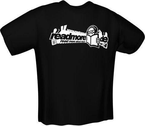 GamersWear READMORE T-Shirt Black (XL)   (5973-XL)