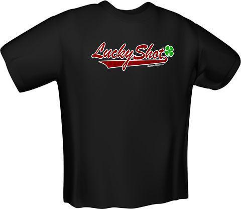 GamersWear LUCKY SHOT T-Shirt Black (S)  (5072-S)