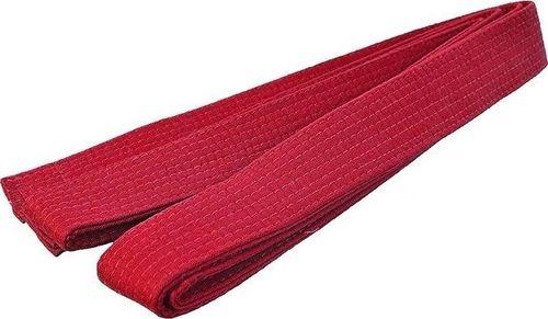 SMJ sport Pas do karate czerwony uniwersalny