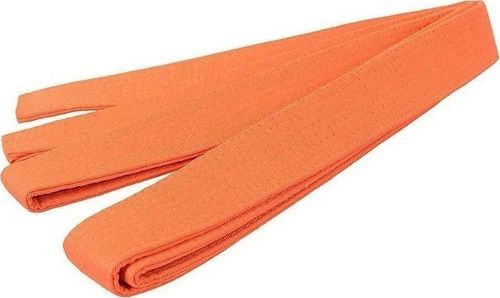 SMJ sport Pas do karate pomarańczowy uniwersalny
