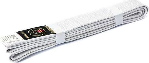 Bushido Pas do kimon Bushindo 220 cm biały uniwersalny