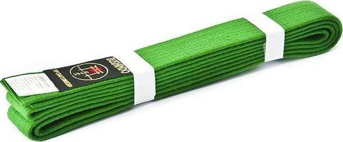 Bushido Pas do kimon Bushindo 220 cm zielony uniwersalny