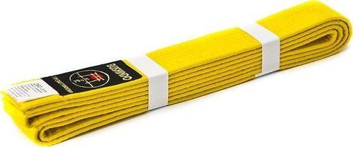 Bushido Pas do kimon Bushindo 280 cm żółty uniwersalny