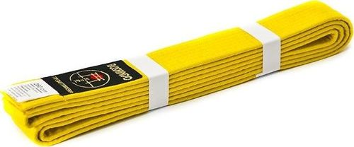 Bushido Pas do kimon Bushindo 300 cm żółty uniwersalny