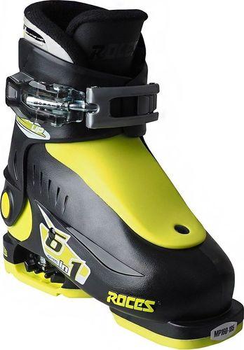 ROCES Buty narciarskie Roces Idea Up czarno-limonkowe Junior 450490 18 25-29