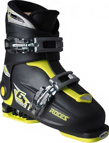 ROCES Buty narciarskie Roces Idea Up czarno-limonkowe Junior 450491 18 30-35