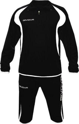 Givova Dres treningowy bluza + spodnie Givova Giove czarno-biały 2XS