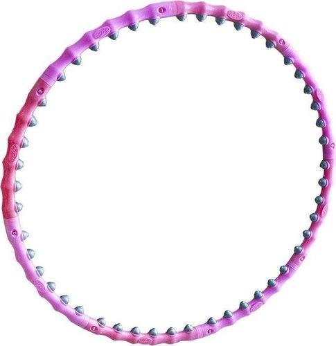 Allright Hula-Hop z kulkami różowe