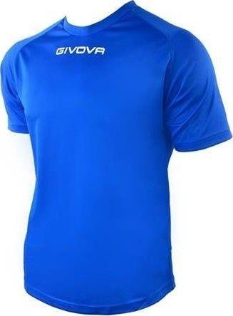 Givova Koszulka Givova One Mac01 0002 niebieska 2XL