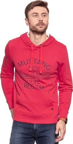 Mustang Bluza męska Logo Hoodie Tomato Puree r. M (1007261 7129)