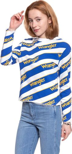 Wrangler WRANGLER B&Y ALL OVER SWT WHITE W610CHY12 XS