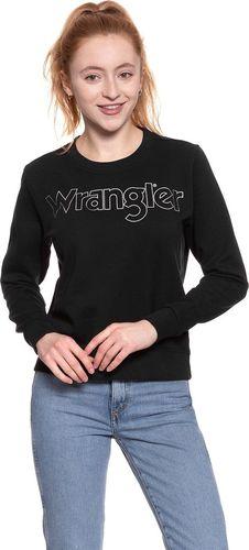 Wrangler WRANGLER CREW SWEAT BLACK W6079HY01 L