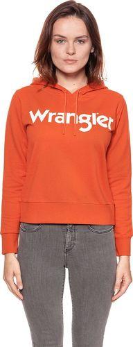 Wrangler WRANGLER LOGO HOODY BURNT OC W6078HP3B $ XS