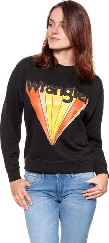 Wrangler WRANGLER RETRO SWEAT FADED BLACK W6085HPV6 $ M